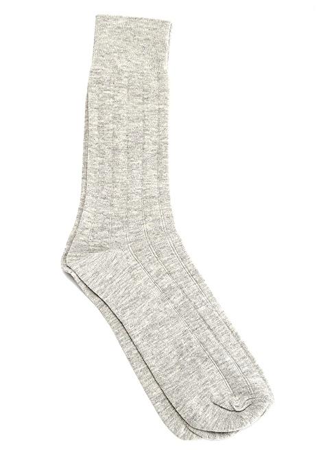 Miorre 6'Lı Likralı Çorap Gri